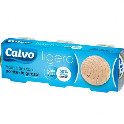 Atún Ligero Calvo Aceite de Girasol
